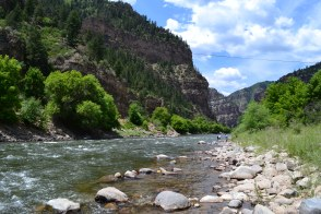 The Colorado River - Near Glenwood Springs