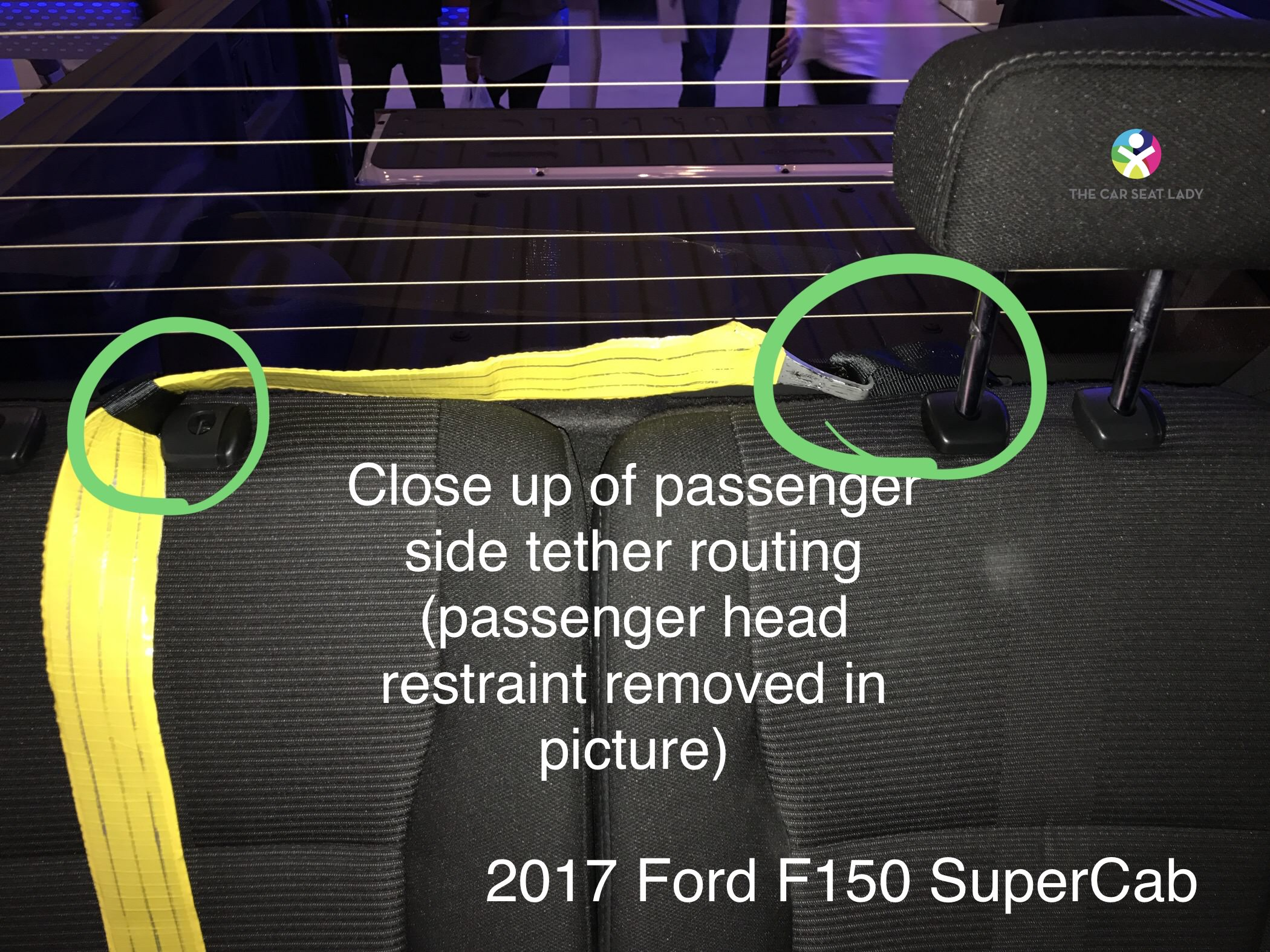 The Car Seat Lady Ford F Series Supercrew