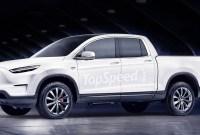 2021 Tesla Pickup Truck Images