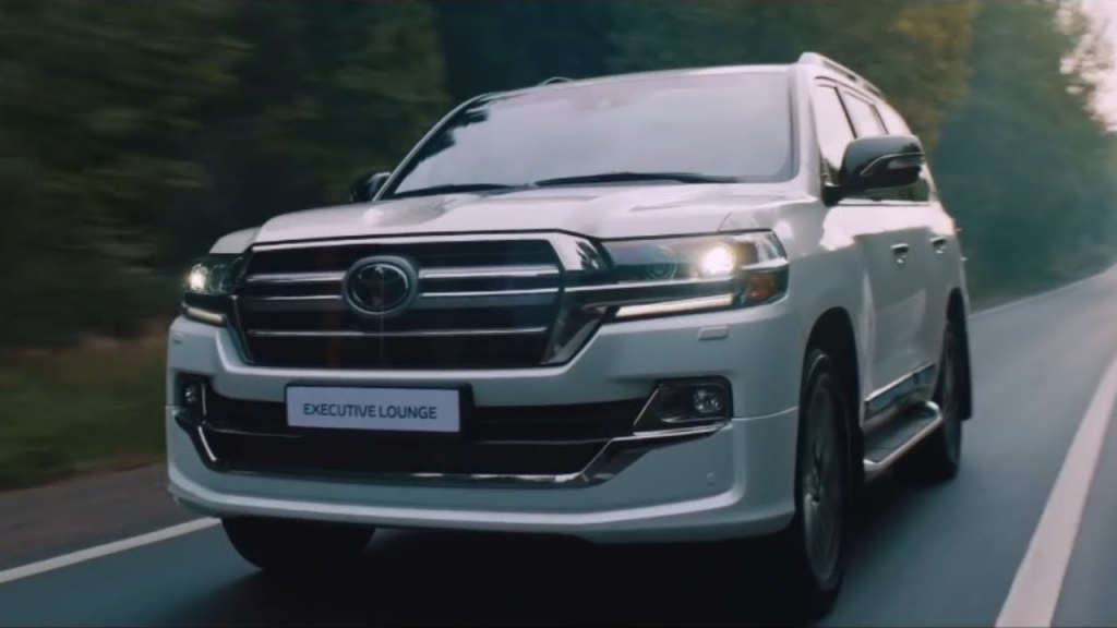 2021 Toyota Land Cruiser Drivetrain