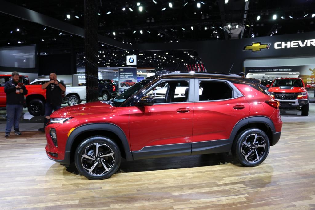 2021 Chevy TrailBlazer Redesign