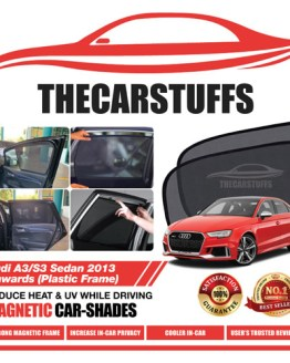 Audi Car Sunshade for A3/S3 Sedan 2013 Onwards (Plastic Frame)