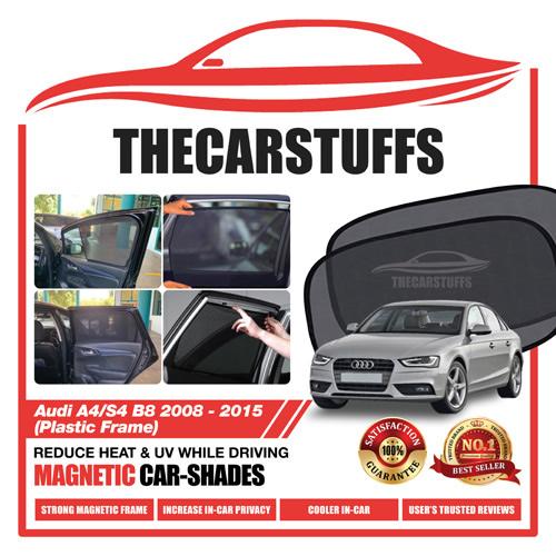 Audi Car Sunshade for A4/S4 B8 2008 - 2015 (Plastic Frame)