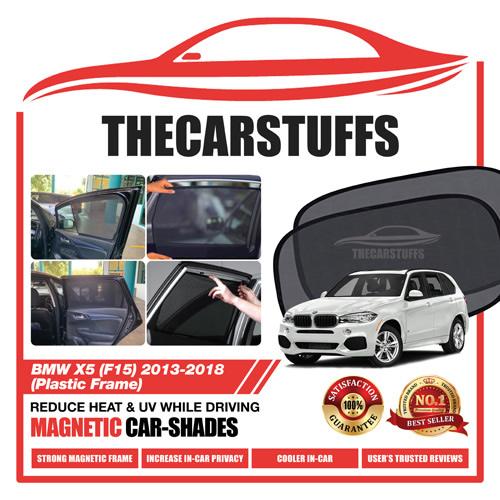 BMW Car Sunshade for X5 (F15) 2013 - 2018 (Plastic Frame)