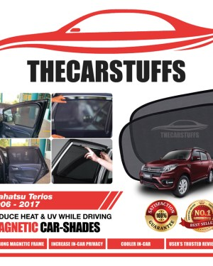 Diahatsu Car Sunshade for Terios 5 Seater 2006 - 2017