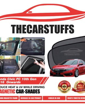 Honda Car Sunshade for Civic FC 10th Gen 2016 Onwards