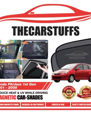 Honda Car Sunshade for Fit/Jazz 1st Gen 2001 - 2008