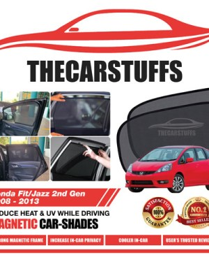 Honda Car Sunshade for Fit/Jazz 2nd Gen 2008 - 2013