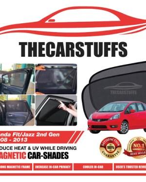 Honda Car Sunshade for Fit/Jazz 2nd Gen 2008 - 2013