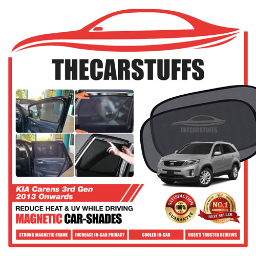 Kia Car Sunshade for Carens 3rd Gen 2013 Onwards