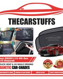 Lexus Car Sunshade for GS250 L10 4th Gen 2010 Onwards