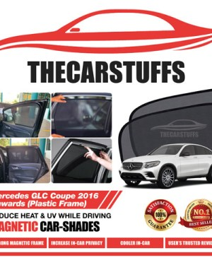 Mercedes Car Sunshade for GLC Coupe 2016 Onwards (Plastic Frame)
