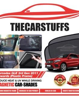 Mercedes Car Sunshade for GLE 3rd Gen 2011 Onwards (Plastic Frame)