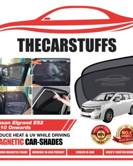 Nissan Car Sunshade for Elgrand E52 2010 Onwards