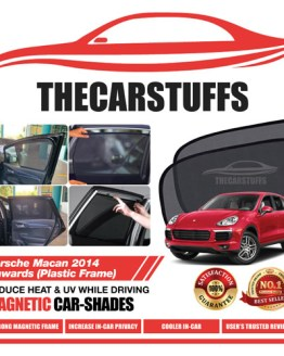 Porsche Car Sunshade for Macan 2014 Onwards (Plastic Frame)