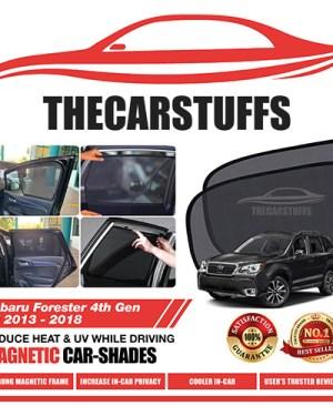 Subaru Car Sunshade for Forester 4th Gen SJ 2013 - 2018