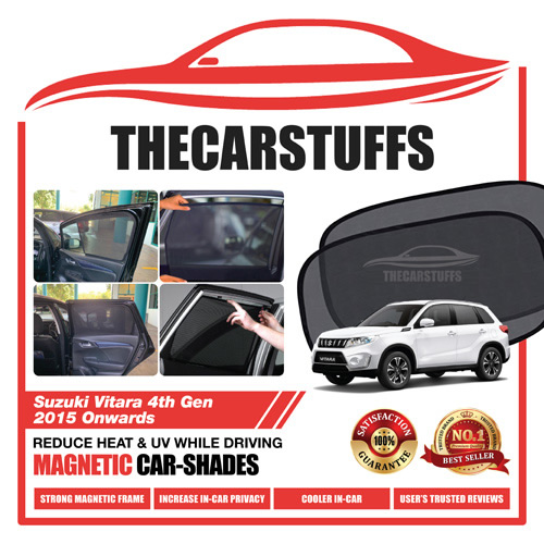 Suzuki Car Sunshade for Vitara 4th Gen 2015 Onwards