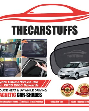 Toyota Car Sunshade for Estima/Previa 3rd Gen XR50 2006 Onwards