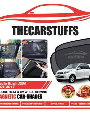 Toyota Car Sunshade for Rush J200 2006 - 2017