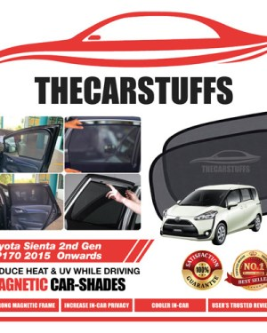 Toyota Car Sunshade for Sienta 2nd Gen XP170 2015 Onwards