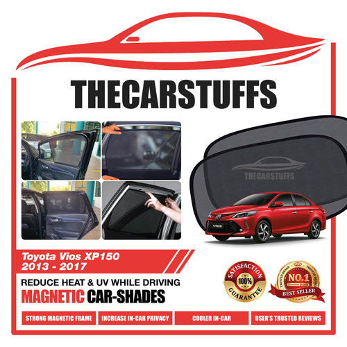 Toyota Car Sunshade for Vios XP150 2013 - 2017