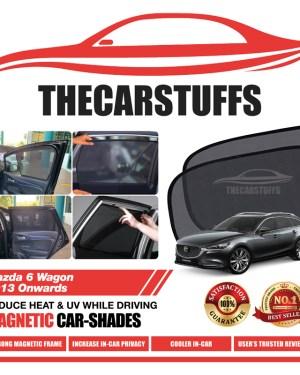 Mazda 6 Car Sunshade for Wagon 2013 Onwards