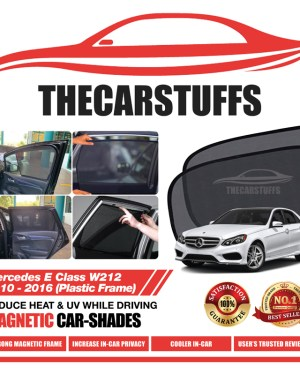 Mercedes Car Sunshade for E Class W212 2010 - 2016 (Plastic Frame)
