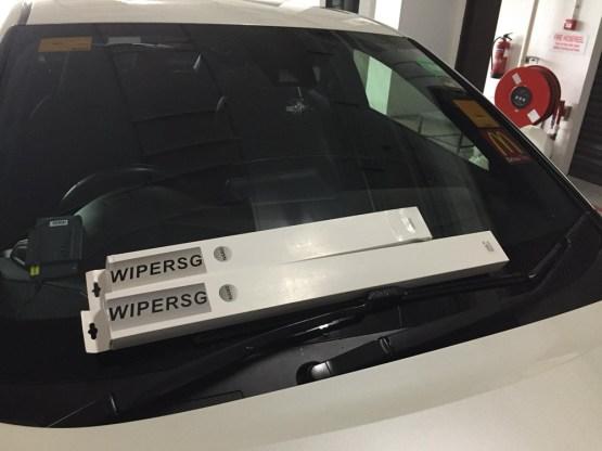 Multi Adaptor With Coating Wiper Blade for Car Windscreen