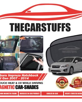 Subaru Car Sunshade for Impreza Hatchback 3rd Gen 2007 - 2014