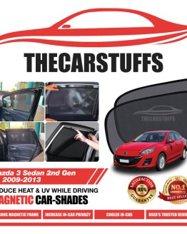 Mazda 3 Car Sunshade for Sedan 2nd Gen BL 2009 - 2013