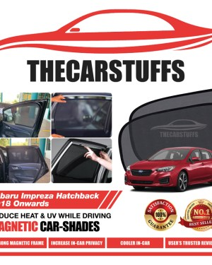 Subaru Car Sunshade for Impreza Hatchback 2018 Onwards