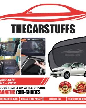 Toyota Car Sunshade for Axio 2007 - 2012