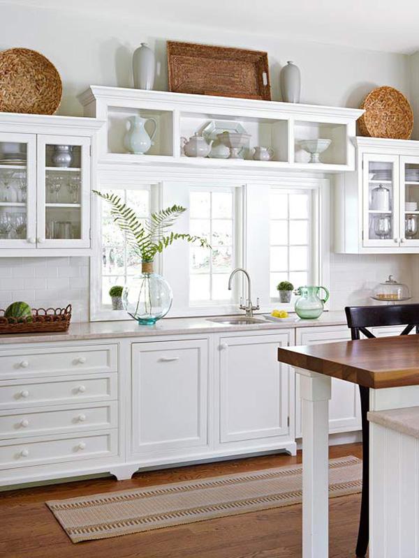 10 Stylish Ideas for Decorating Above Kitchen Cabinets on Kitchen Decoration Ideas  id=56285