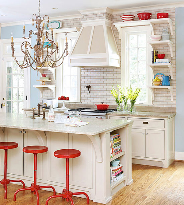 10 Stylish Ideas for Decorating Above Kitchen Cabinets 10 Ideas for Decorating Above Kitchen Cabinets   Not sure what to do with  that awkward