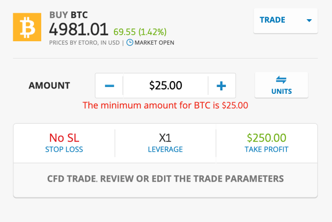 How to trade bitcoin etoro uk