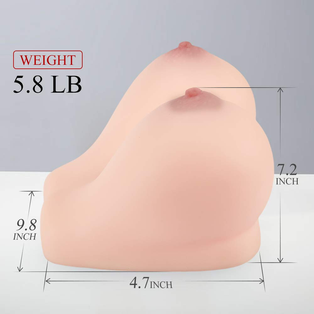 Breast toy dimensions