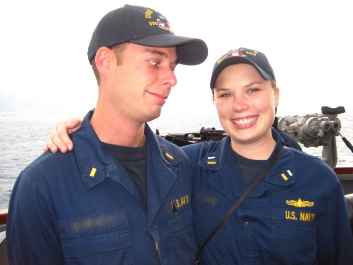 LTJG Promotion from the Straits of Messina