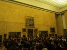 The room with the Mona Lisa