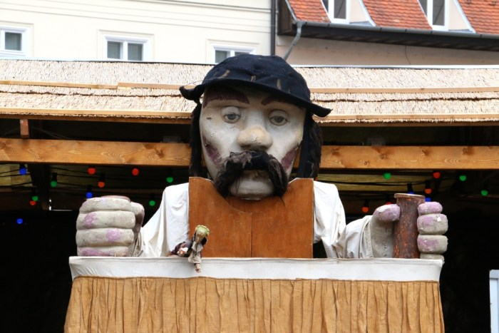 Budapest Hungary Puppet Show