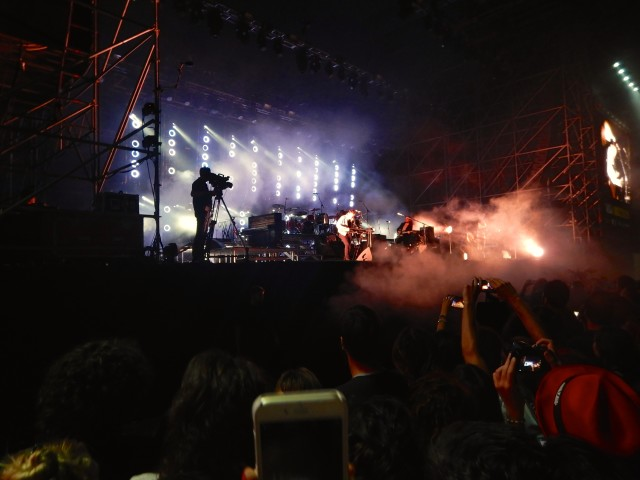 Mumford and Sons Concert Rome 3