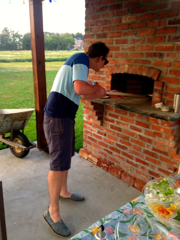 home aid pizza oven 2