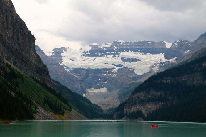 Lake Louise beginning of Icefields Parkway 2