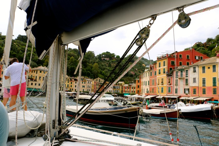Sailing the Coast of Cinque Terre Italy 38