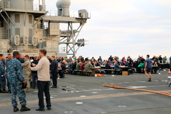 Steal Beach Picnic USS Mount Whitney 15