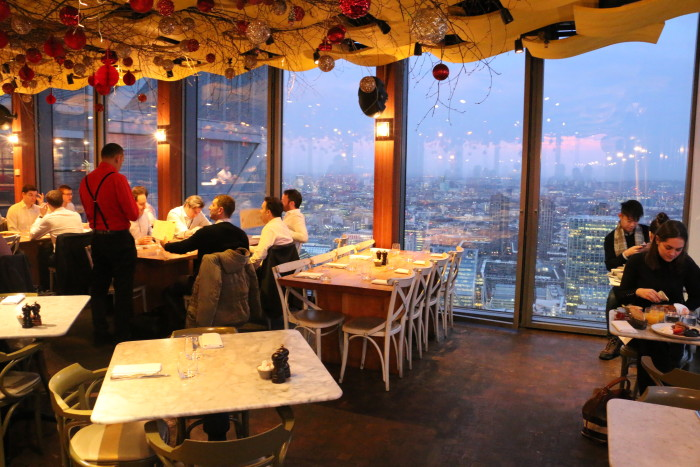 Sunrise View Duck and Waffle, London 4