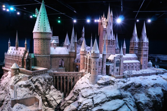 Hogwarts in the Snow, Harry Potter World London 51