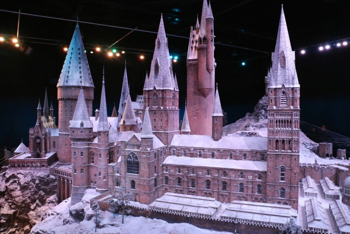 Hogwarts in the Snow, Harry Potter World London 52