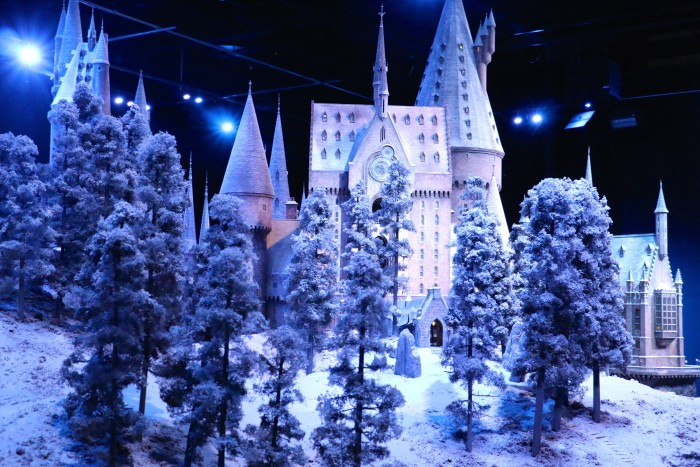 Hogwarts in the Snow, Harry Potter World London 54