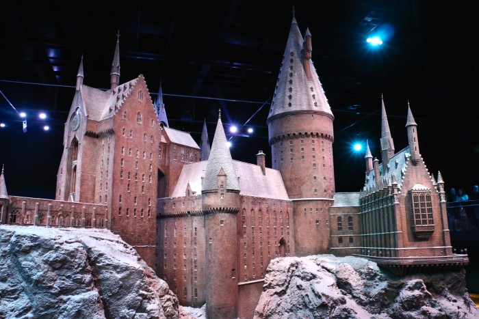 Hogwarts in the Snow, Harry Potter World London 56