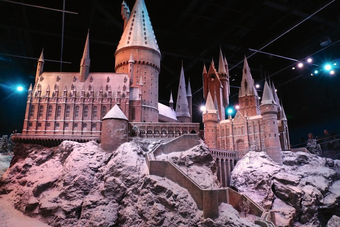 Hogwarts in the Snow, Harry Potter World London 59
